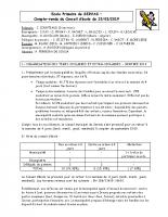 PV Conseil d'école 15/03/19