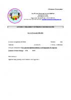 Adhésion règlement intérieur