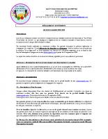 règlement interieur servas 2020-2021