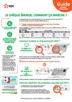 Chèque Energie EDF comment ça marche